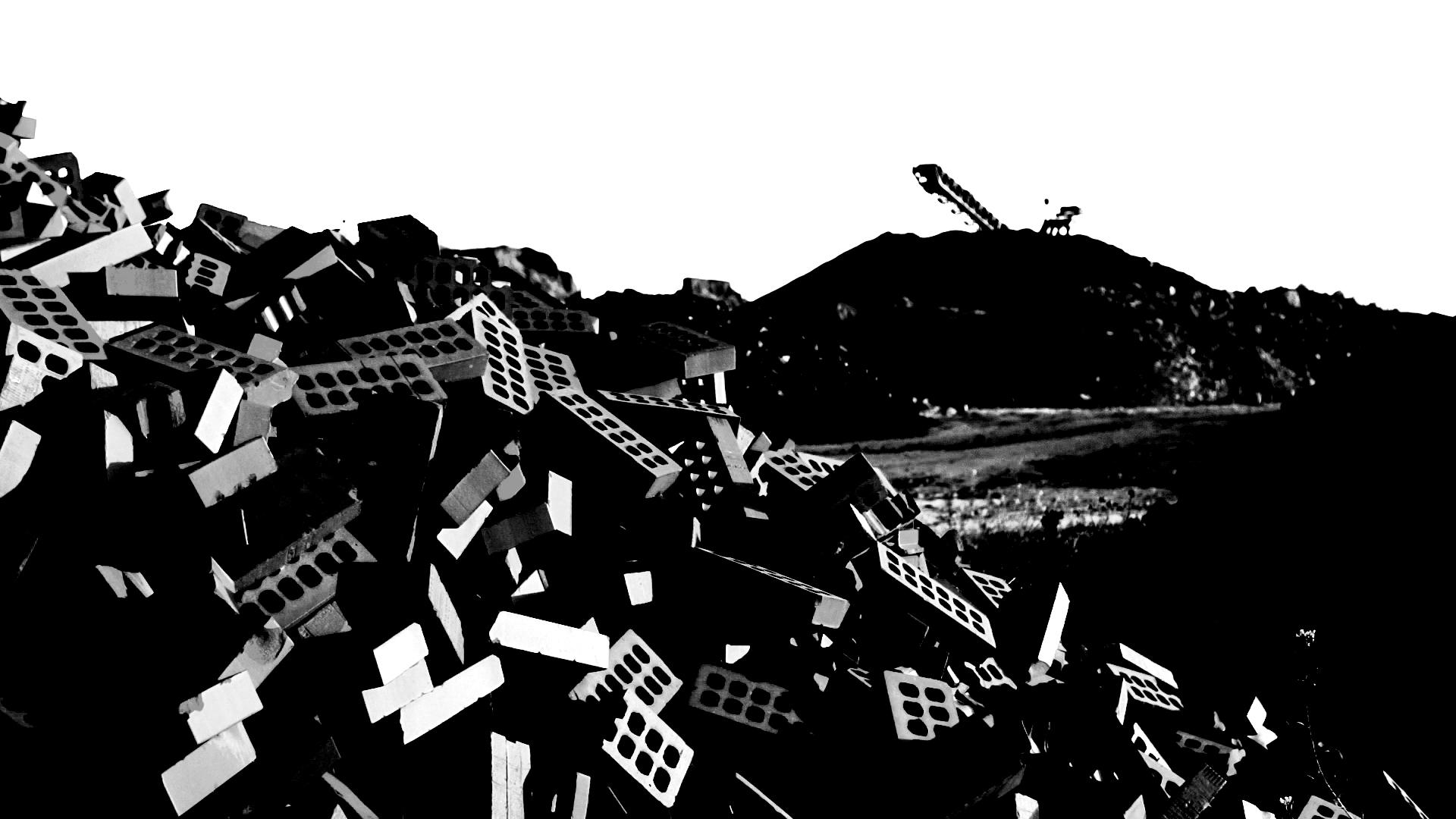 Tas de briques_